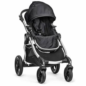Poussette double City Select de Baby Jogger (Onyx noir)