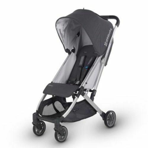 UPPAbaby Jordan MINU Baby Stroller - Charcoal Melange/Silver/Black