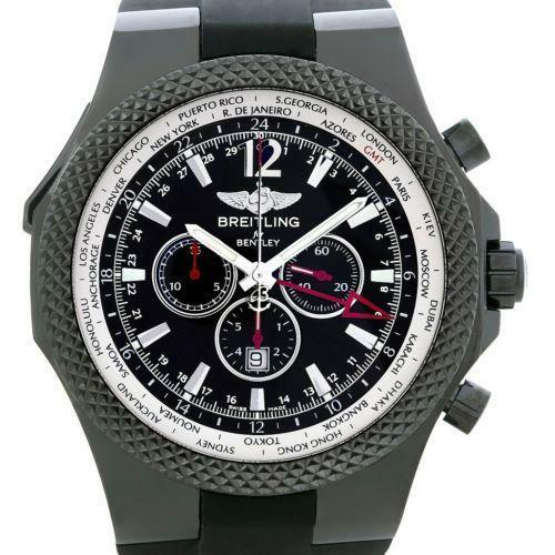Breitling Bentley Gt Wristwatches: Breitling Bentley GMT: Wristwatches