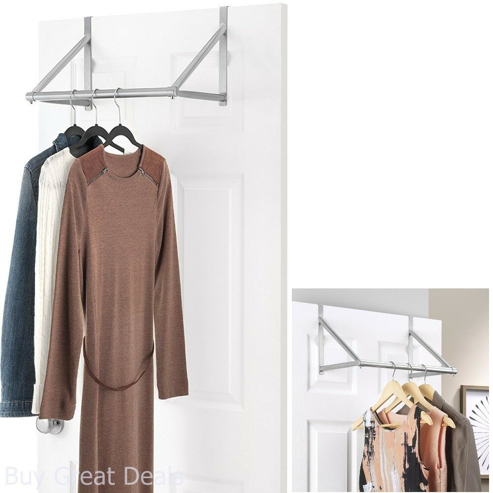 HEAVY DUTY COAT AND HAT HOOK HAT CLOTHES HANGING HANGER ROBE HOLDER RAIL FIXING
