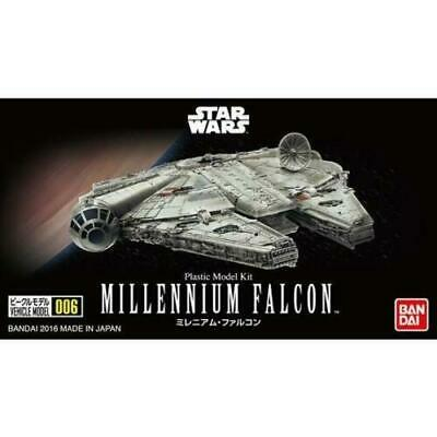Bandai Hobby Star Wars Millenium Falcon 006 1/350 Scale Model Kit A New Hope ()