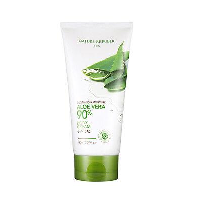 [NATURE REPUBLIC] Soothing & Moisture ALOE VERA 90% Body Cream - 150ml