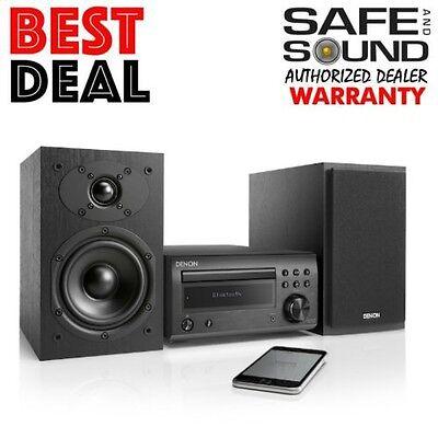 DENON D-M41S Micro CD Hi-Fi Mini System Bluetooth DM41S DM41 With Speakers