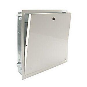 R500 cassetta metallica incasso per collettori r500y102 - Cassetta per collettori idraulici ...