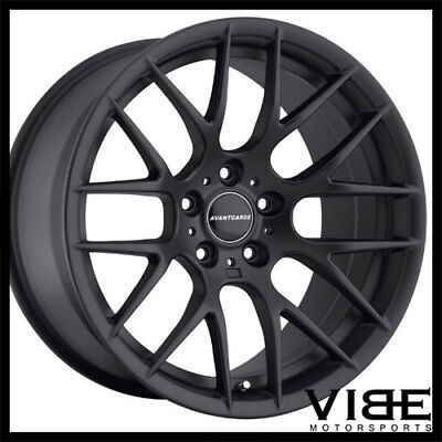 """18"""" AVANT GARDE M359 BLACK CONCAVE WHEELS RIMS FITS BMW E92 E93 M3 COUPE for sale  Shipping to Canada"""