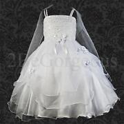 Wedding Flower Girl Bridesmaid Party Dress