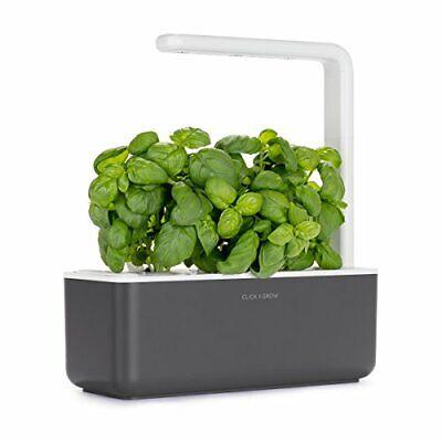 Click & Grow 4742793007229 Intelligente Garden 3, Grigio Scuro, (O1j)