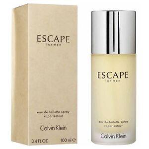 Calvin Klein Escape For Men 100ml EDT Spray Retail Boxed Sealed