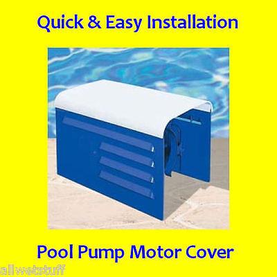 DELUX BLUE Pool Spa Pump Motor Cover Swimming Swim Last Longer Easy DIY Sprinker