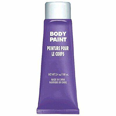Purple Body Paint (1 Tube) 3.4 oz.  - Purple Body Paint