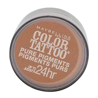 Bronze Pure Eye Shadow (MAYBELLINE COLOR TATTOO PURE PIGMENTS EYE SHADOW #35 BREAKING BRONZE)