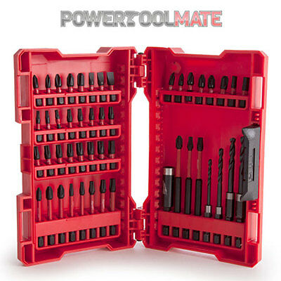 Milwaukee 4932430906 48pc Shockwave Impact Driver Bit Set