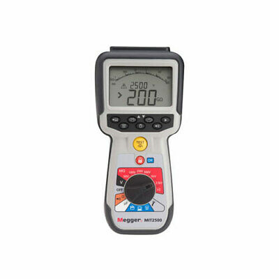 Megger Mit2500 2.5kv High Voltage Hand-held Insulation And Continuity Tester