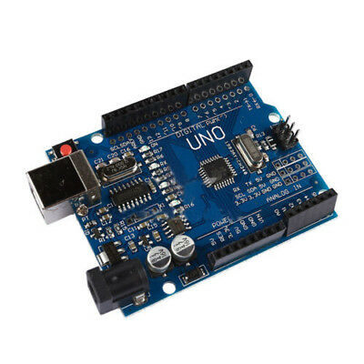 Купить ATmega328P CH340G UNO R3 Board + USB Cable Compatible with Arduino L2