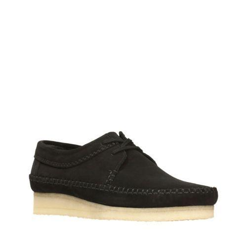 Ecología Banzai Movimiento  Clarks Originals Wallabee Black Womens Shoes for sale | eBay