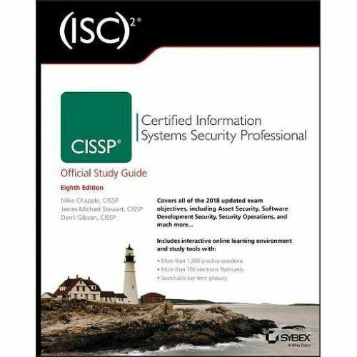 (ISC)² CISSP Official Study Guide 8th Edition - PDF