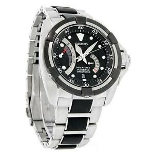 mens seiko kinetic watch men s seiko kinetic velatura watches