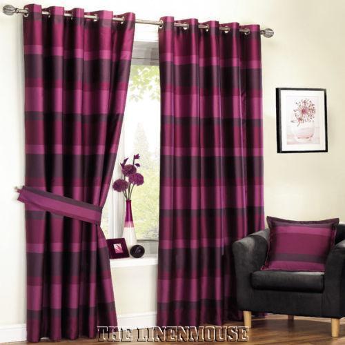 Raspberry Curtains Ebay