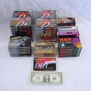 Blank Cassette Tapes Lot