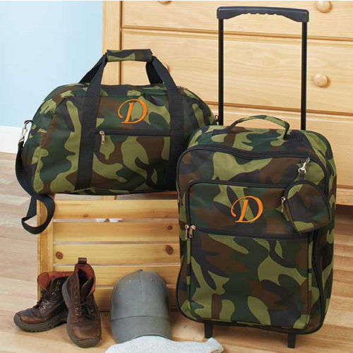 Luggage for Kids Boys Sets Small Rolling Suitcase Duffel Bag Camo ...