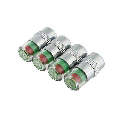 4 Auto pneumatici Pressione valvola Monitore Tappi Indicatore Sensore Allar O4X8