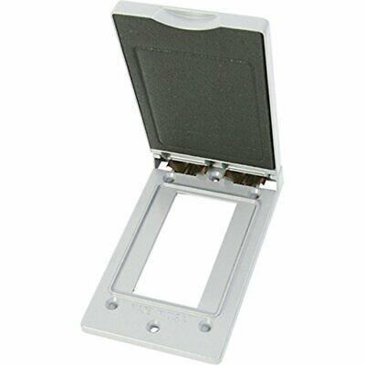Greenfield Cgfivws Series Weatherproof Electrical Outlet Box Cover White