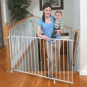 Extra Tall Stair Gate with Bannister Kit