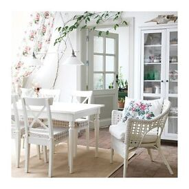 IKEA Ingatorp table and chairs