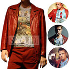Red Leather Coats & Jackets for Men