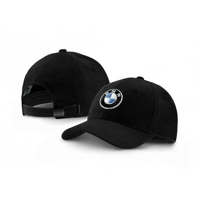 NEU !!!! Original BMW Logo Cap Basecap Kappe schwarz black