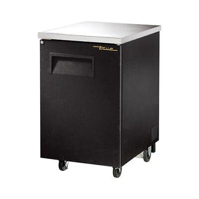 True Tbb-1 Back Bar Cooler 1 Solid Door Black