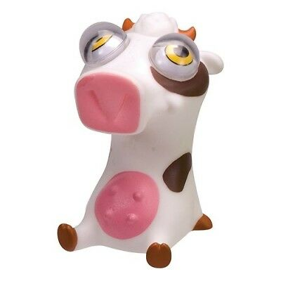 Cow Eye - COW Poppin' Peepers Squeeze Toy Eyes bug out Stress Relief Ball pete bob panic