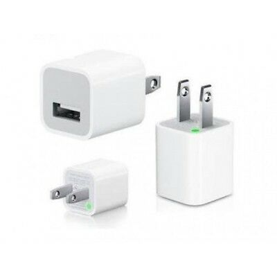 New OEM Authentic Apple iPhone 5W Wall Charger Adapter Cube A1385