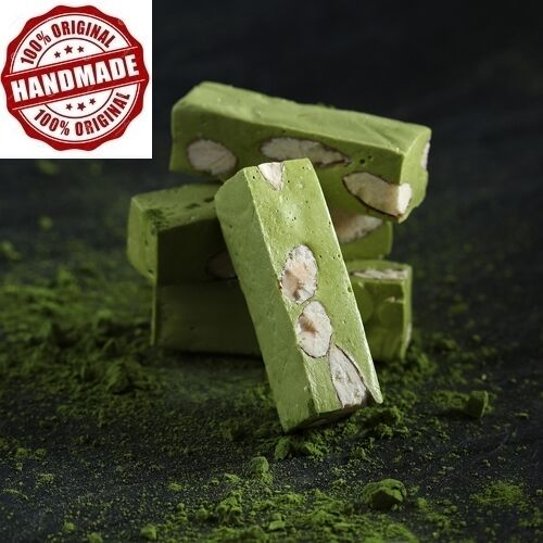[Sugar & Spice] Matcha Nougat (抹茶牛軋糖) - Total 180g