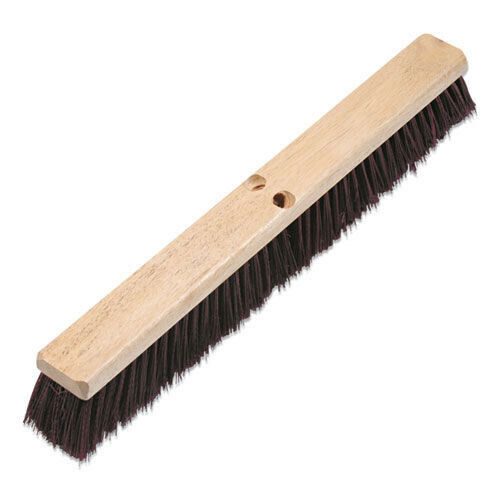 "Boardwalk 20324 3.25"" Maroon PP Bristle Floor Brush Head New"
