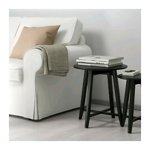 Ikea Kragsta Nesting Tables - Black