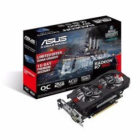 ASUS AMD Radeon R7 360 OC V2 2GB GDDR5 Graphics Card