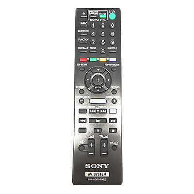 Sony BDV-E2100 Genuine Original Remote Control
