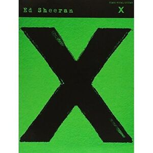 Ed-Sheeran-X-Arranged-For-Piano-Vocal-amp-Guitar