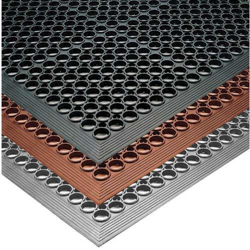 Notrax 440448 Phoenix Anti-Fatigue Mat 3 ft. Wide x 15 ft. Deep, Black