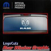 Dodge Truck Rear Window