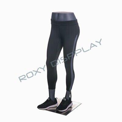 Eye Catching Female Fiberglass Mannequin Leg Athletic Style Mz-hef22leg