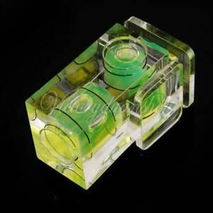 2 Axis Spirit Level Gradienter Camera Flash Hot Shoe for Canon N