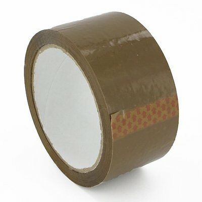 Brown Tape... 12 Rolls.....  selotape packing cellotape sellotape packing boxes