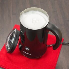 Andrew James Milk Frother Black BRAND NEW