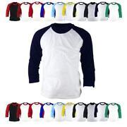 Baseball Shirt 3 4 Sleeve