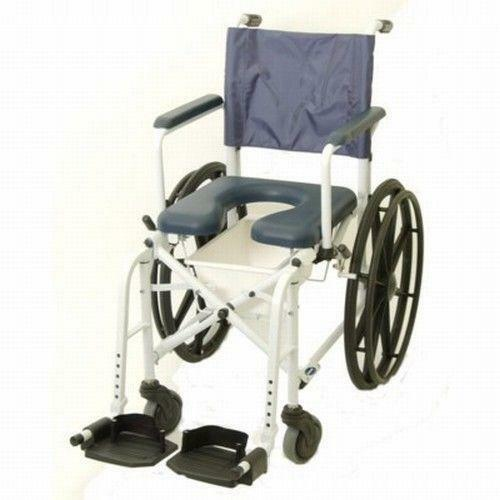 Rolling Shower Commode Chair Ebay