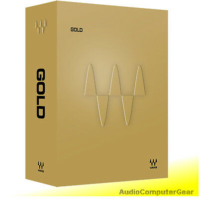 Waves GOLD Bundle Audio Software Effect Plug-in Collection NEW Waves Plug Ins