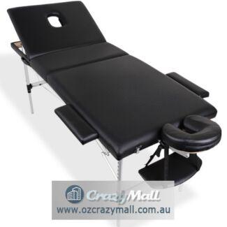 Aluminium Portable Massage Table 75cm Black Different Styles