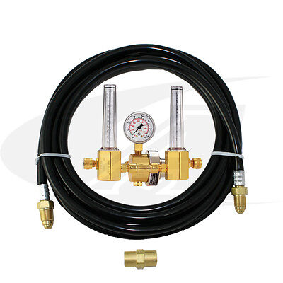 Smith Dual Precision Series Flowmeterregulator With Gas Hose Kit